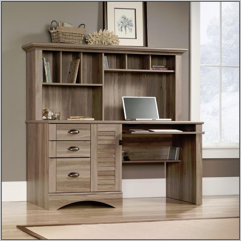 Sauder Corner Desk Black