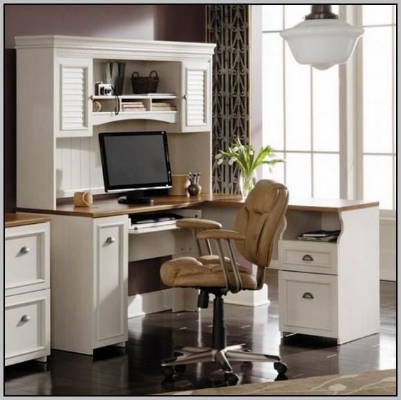Sauder Corner Desk White