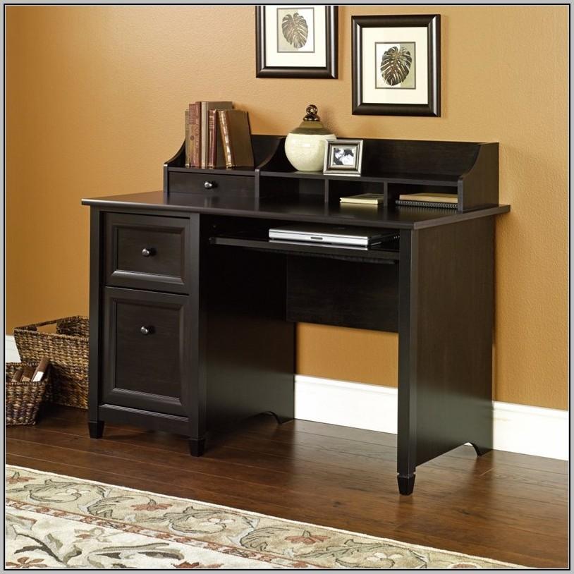 Sauder Executive Desk Black