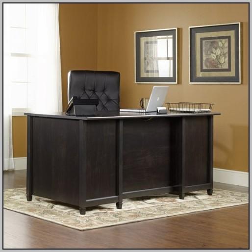 Sauder Executive Desk Jamocha