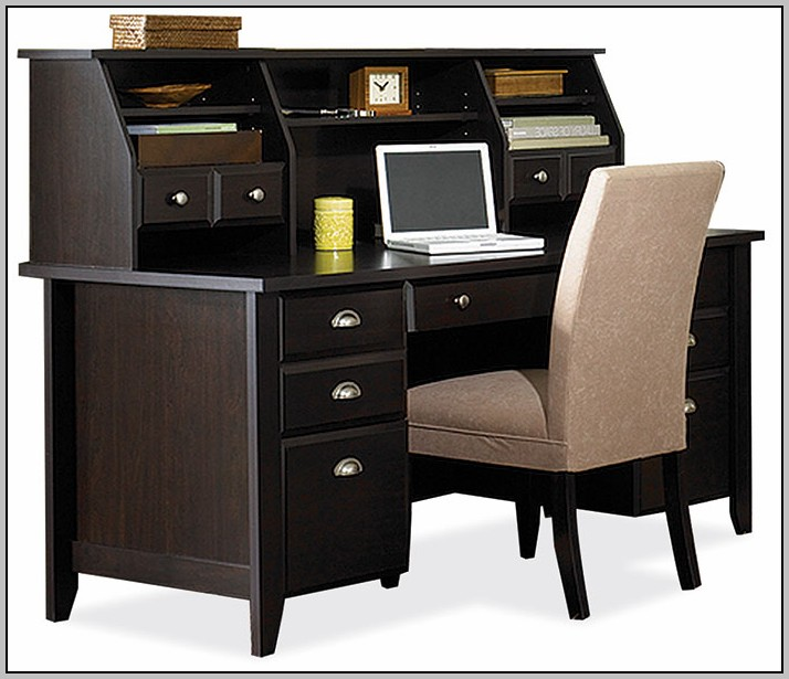 Sauder Shoal Creek Desk Black