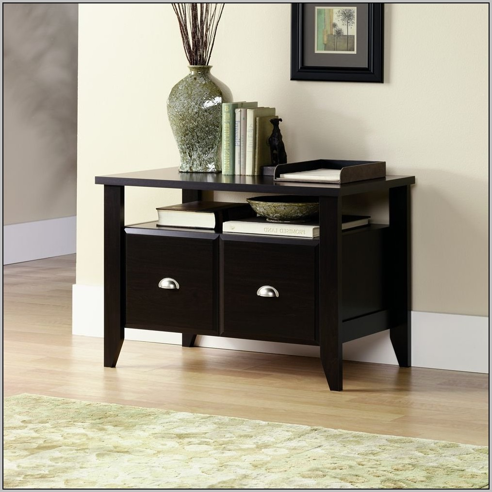 Sauder Shoal Creek Desk Jamocha