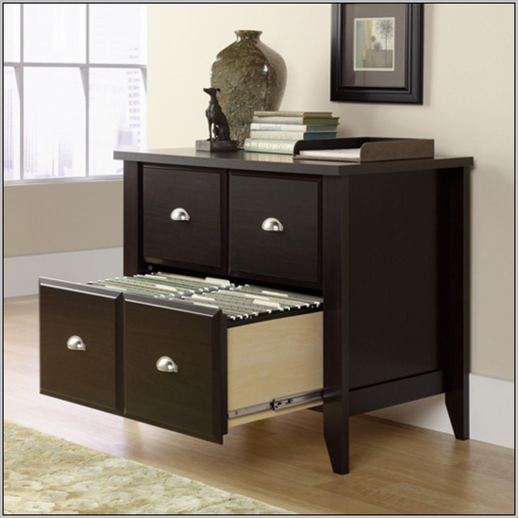 Sauder Shoal Creek Desk Oiled Oak