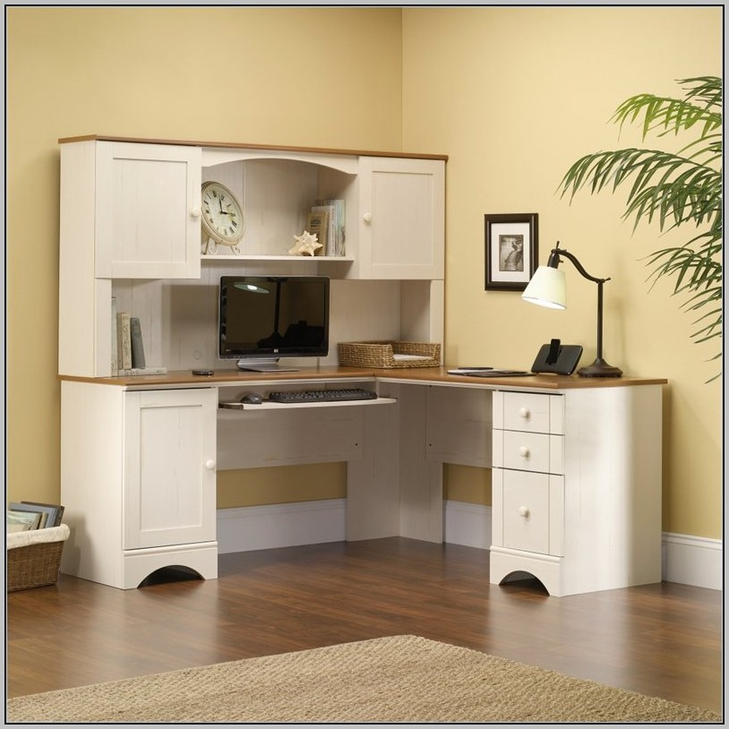 Sauder Shoal Creek Desk White