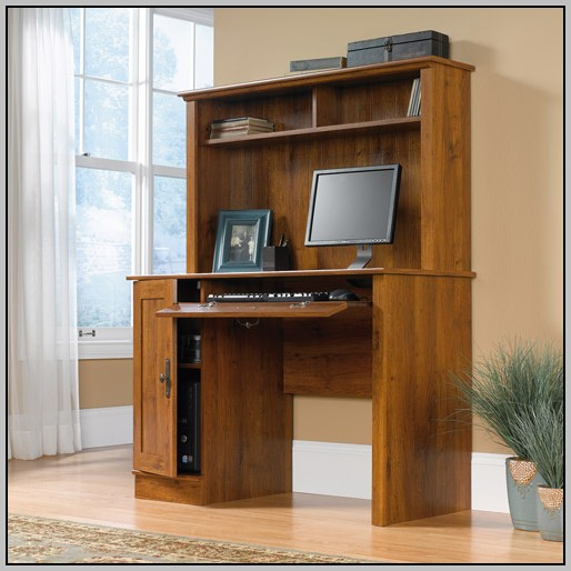 Small Computer Desks With Hutch