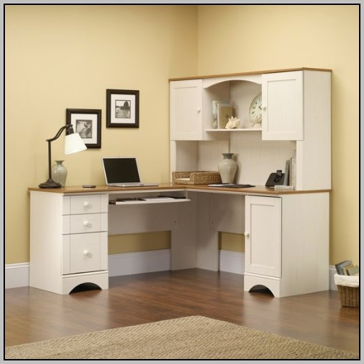 Small Corner Desks With Hutch