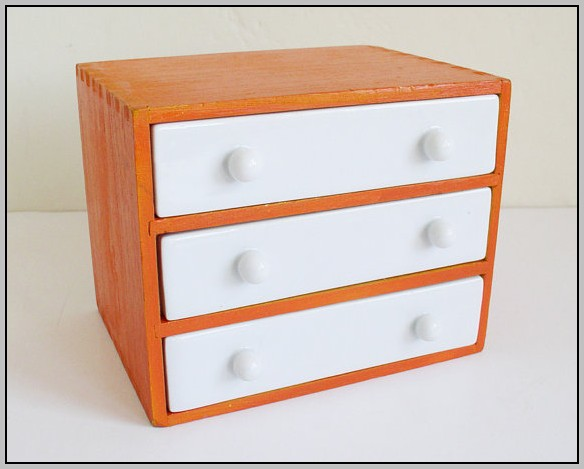 Small Desk Organizer With Drawers