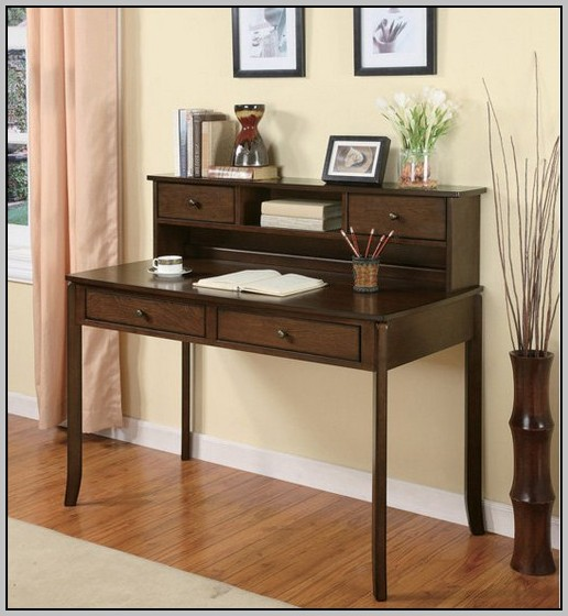 Small Desk With Drawers And Hutch