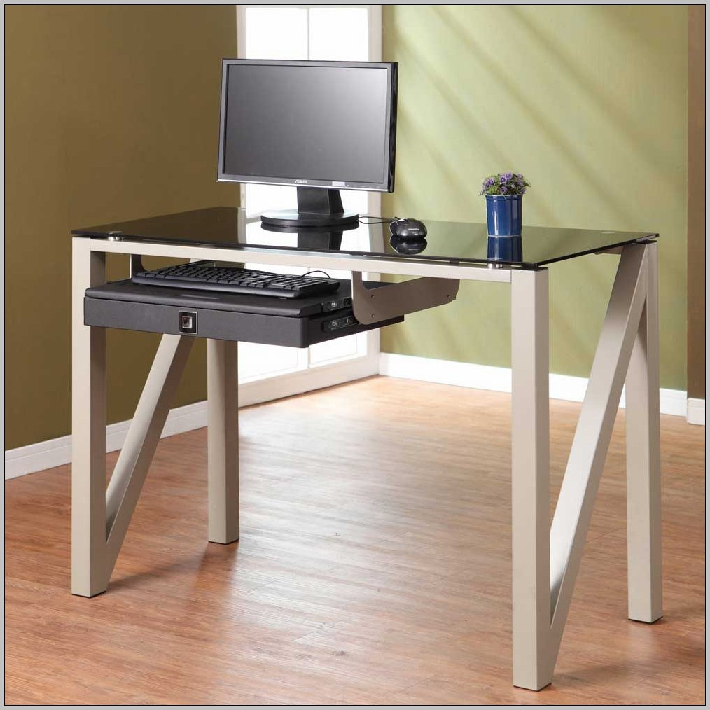 Small Glass Desk Ikea
