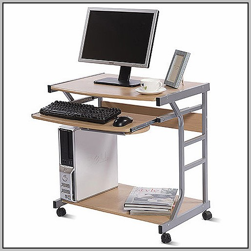 Small Laptop Desk On Wheels