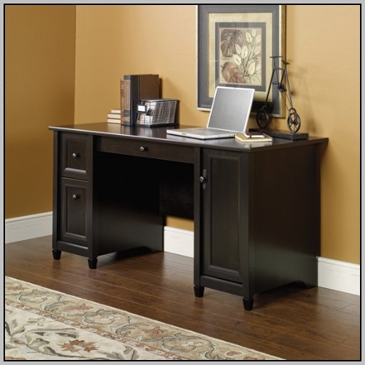 Small Secretary Desk With File Drawer