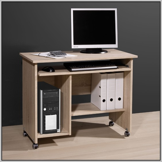 Small Writing Desk With Drawers And Compartments