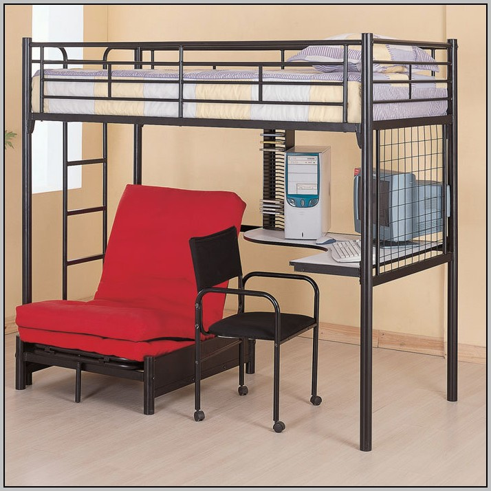 Space Saver Desk Bed