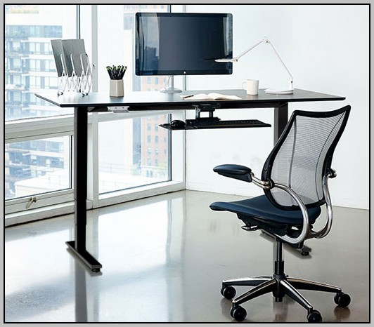 Stand Up Computer Desk Adjustable