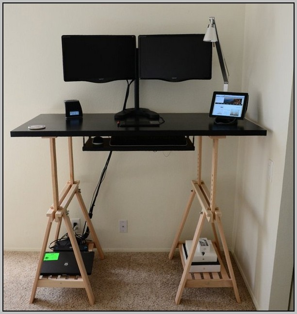 Standing Desk Conversion Ikea