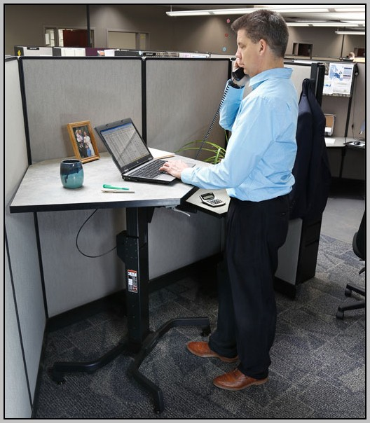 Standing Desk Conversion Platform