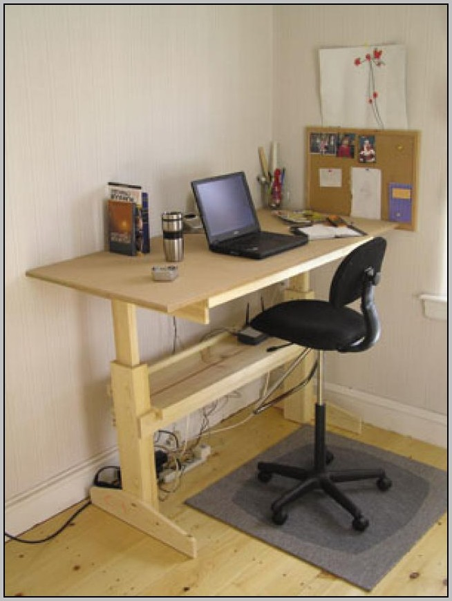 Standing Height Desk Plans