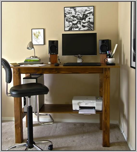 Standing Height Desk Wood