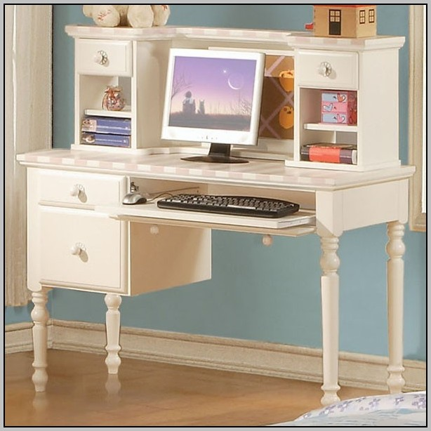 Student Computer Desk White