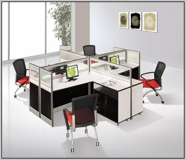 T Shaped Office Desk Furniture
