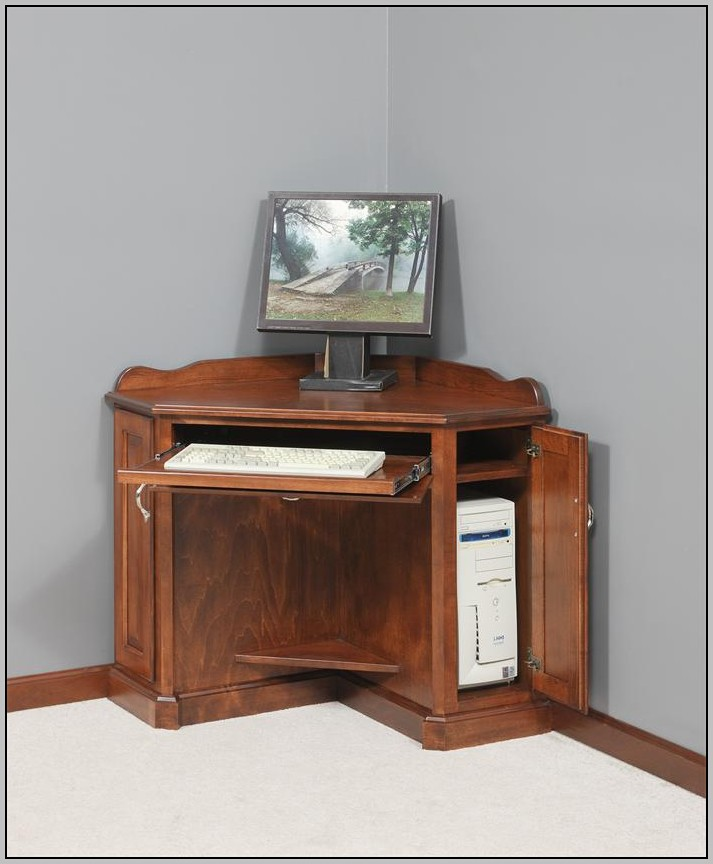 Target Computer Desk Armoire
