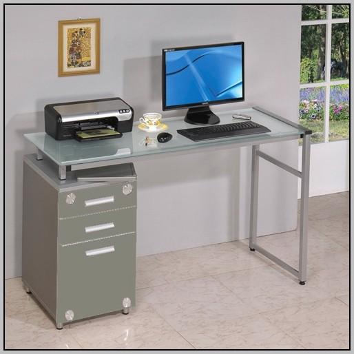 Techni Mobili Computer Desk Graphite