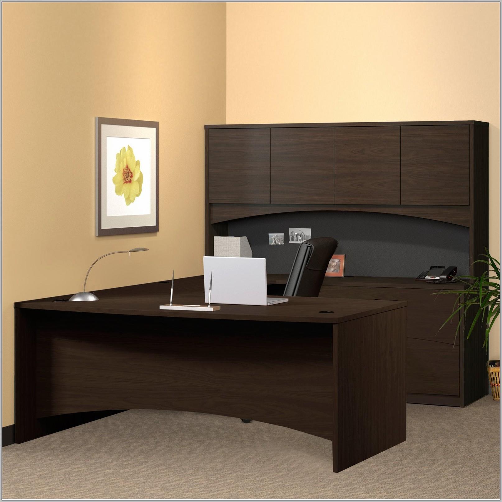 U Shaped Desk With Hutch Canada
