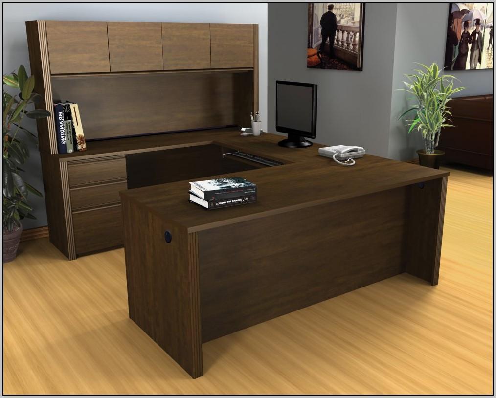 U Shaped Desk With Hutch Office Depot