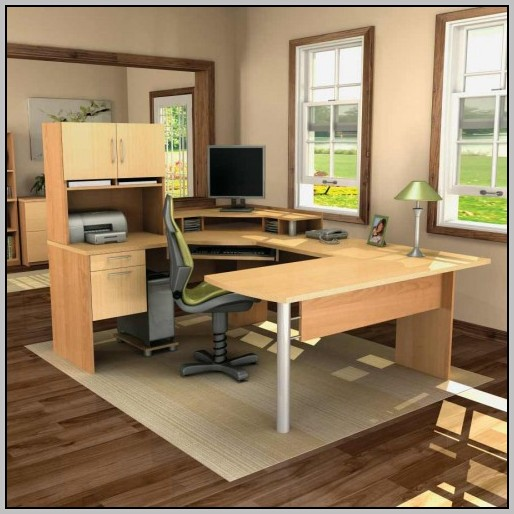 U Shaped Office Desk Dimensions