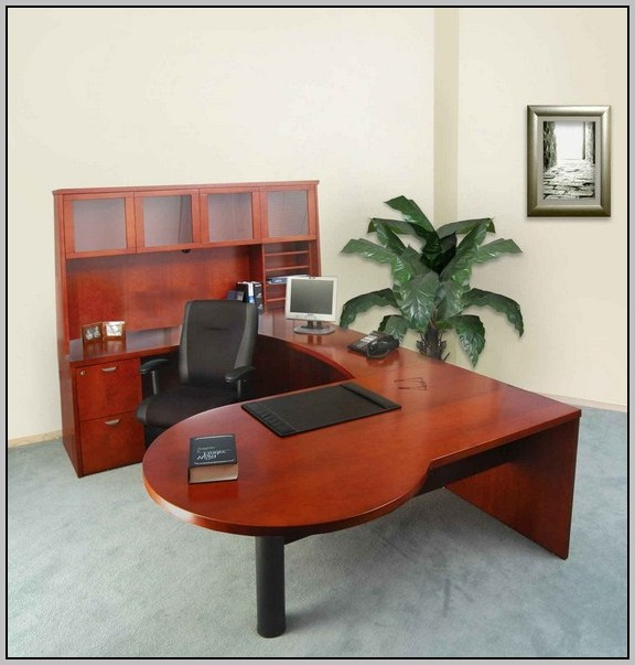 U Shaped Office Desk Furniture