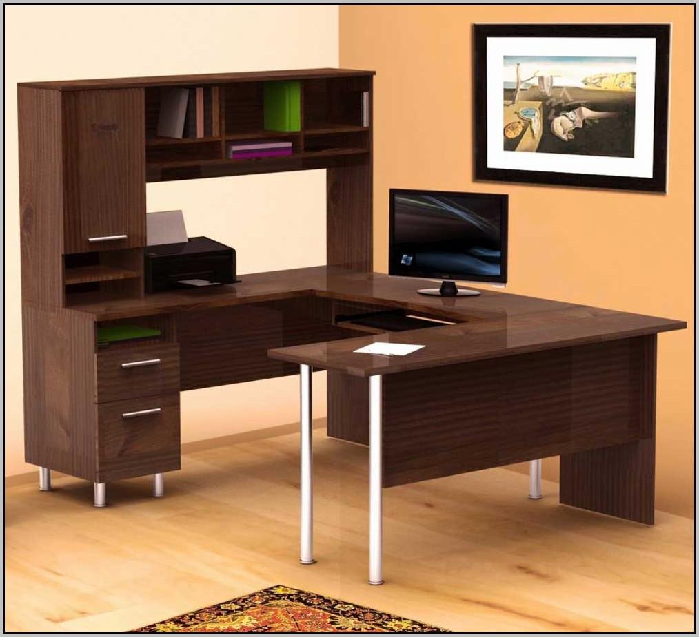 U Shaped Office Desk Plans
