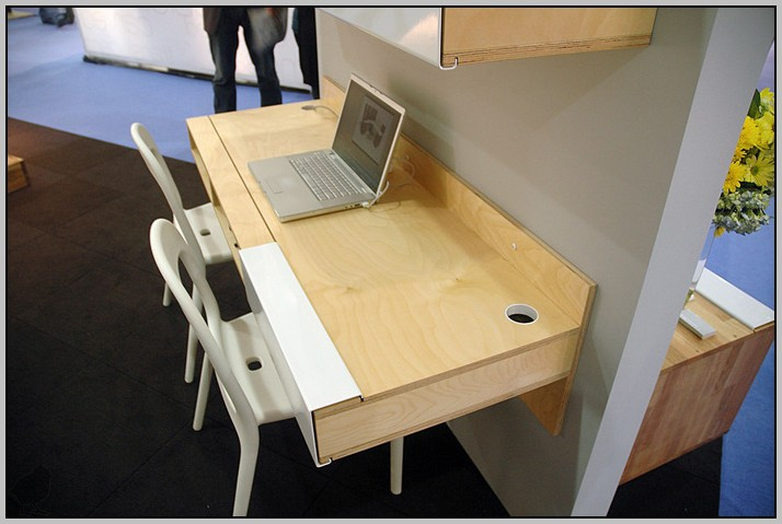 Wall Mounted Desks For Small Spaces