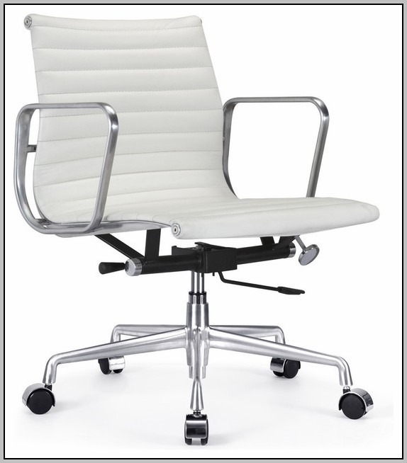 White Desk Chairs With Arms