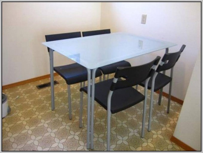 White Glass Desk Ikea
