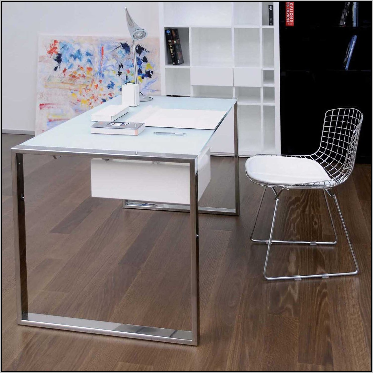 White L Shaped Desk Home Office