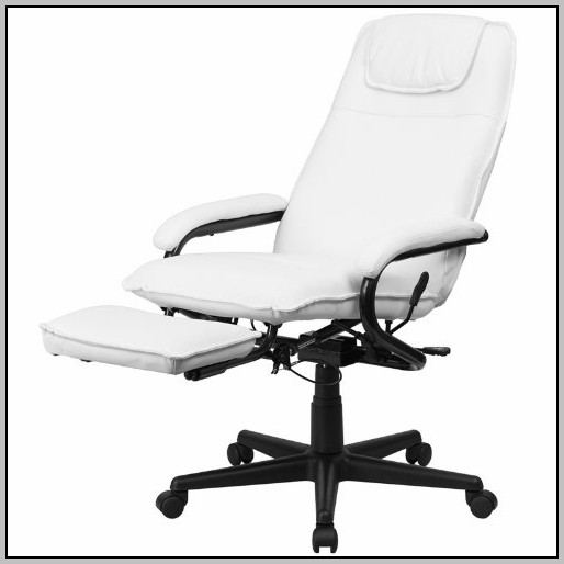 White Leather Desk Chair Uk