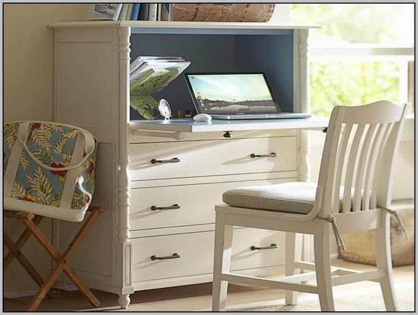 White Secretary Desk Ikea