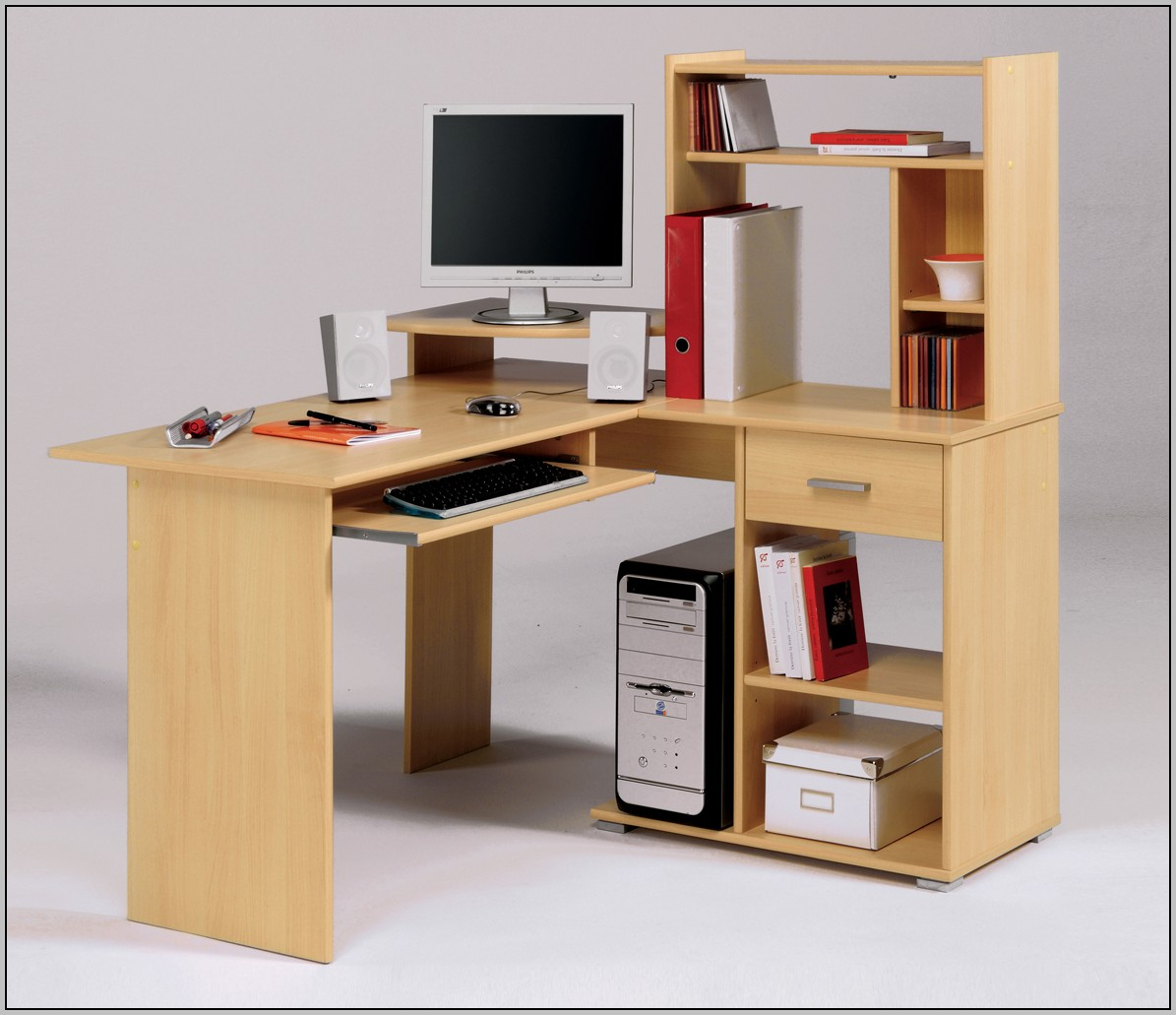 Wood Computer Desk Designs