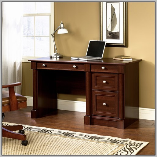 Wood Computer Desk With Drawers