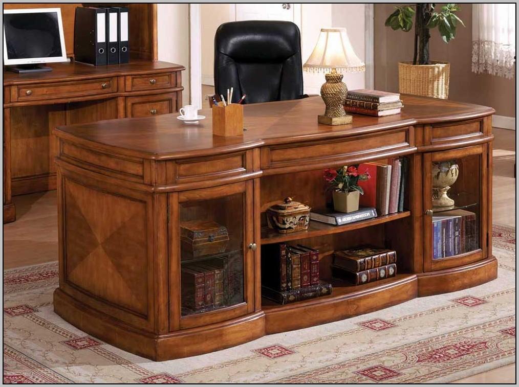 Wood Computer Desks For Home