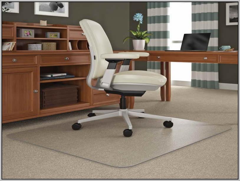 Wood Desk Chair Mat