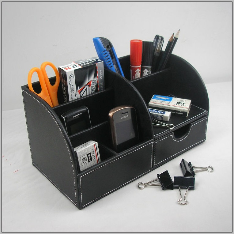 Wood Desk Organizers And Accessories