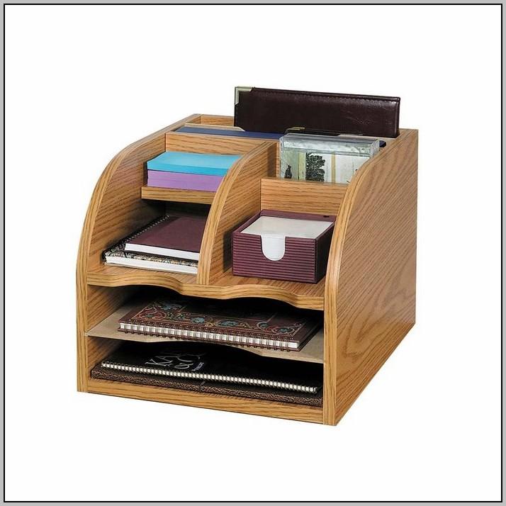 Wood Desktop Organizer