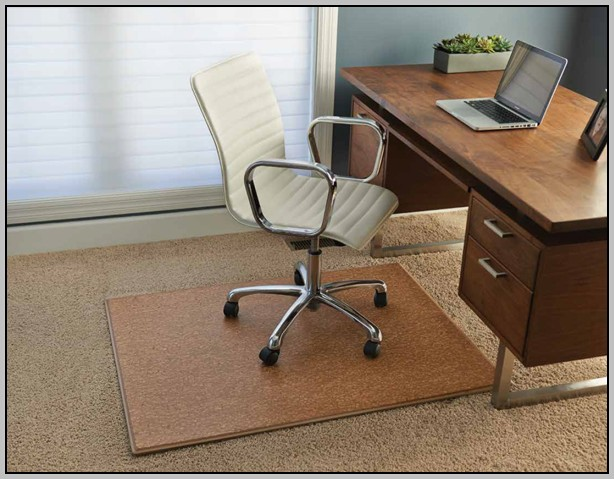 Wooden Desk Chair Floor Mat