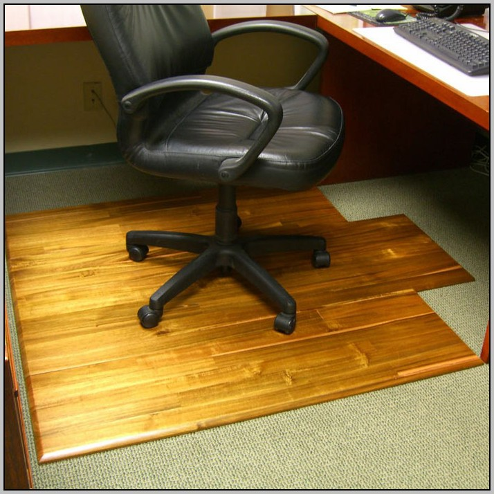 Wooden Desk Chair Mats