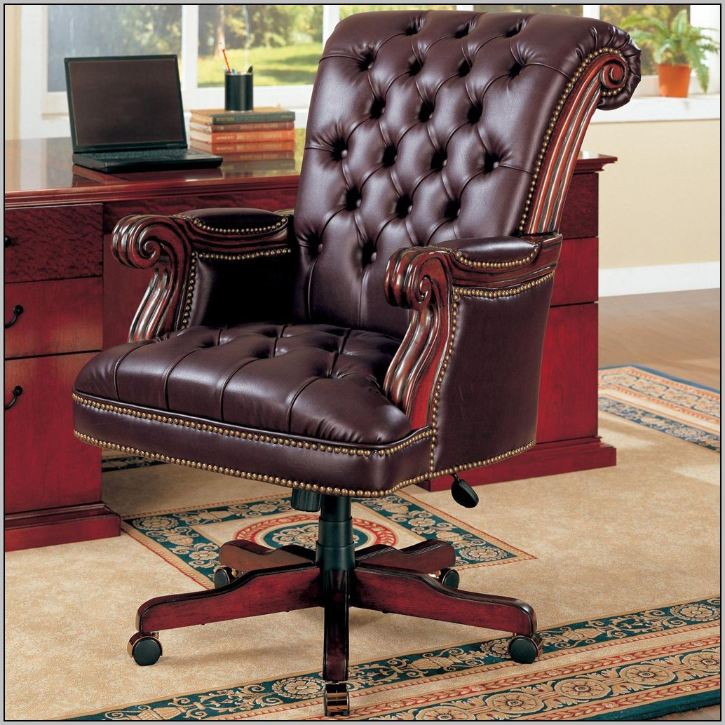 Wooden Desk Chair Plans