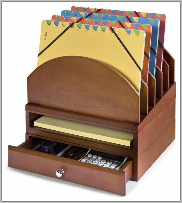 Wooden Desk Organizers Accessories