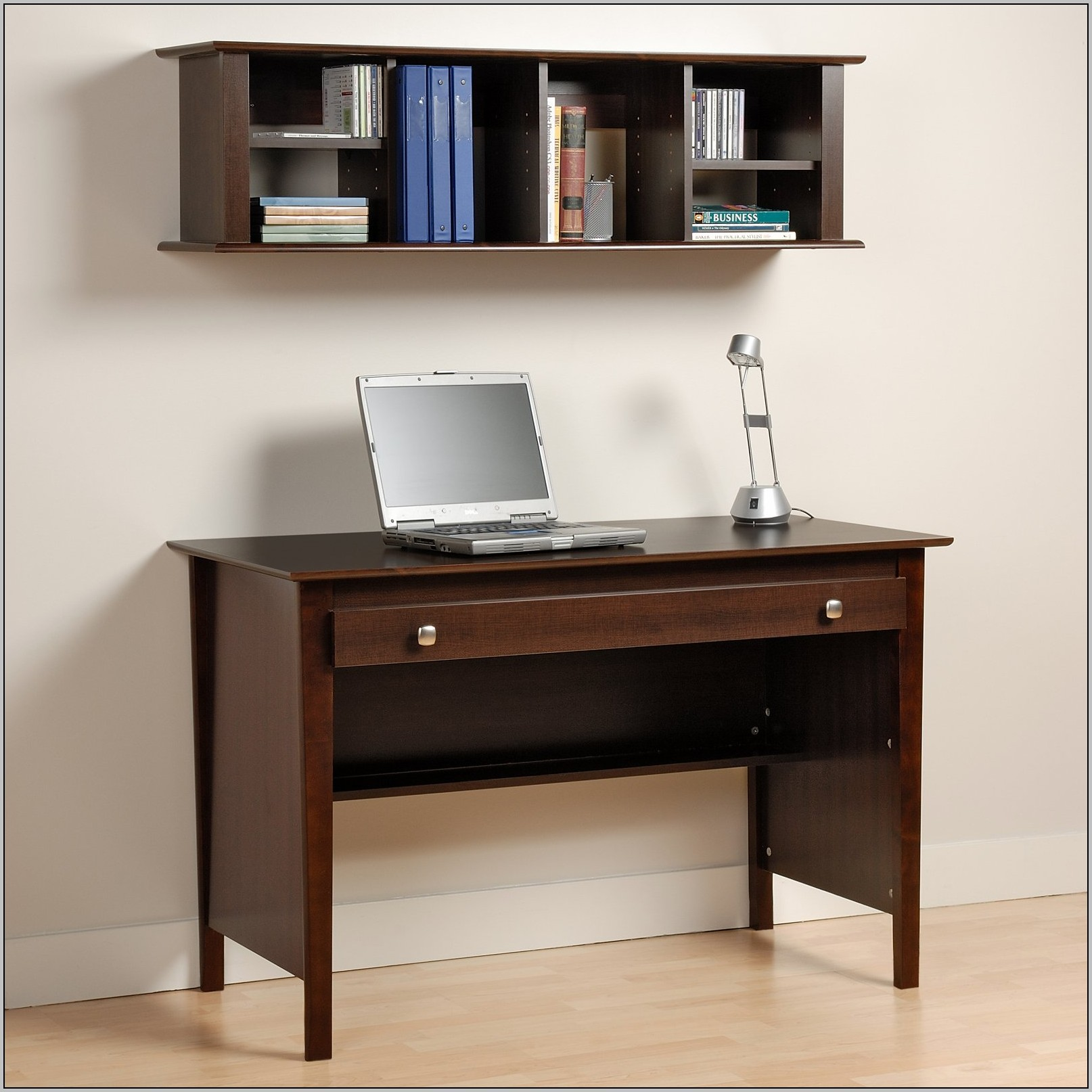 Writing Desk With Hutch And Drawers