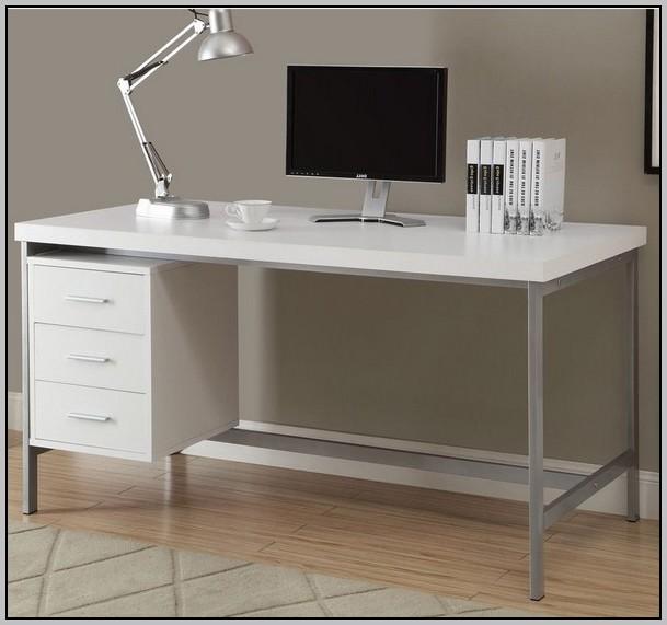 60 Inch Desk White