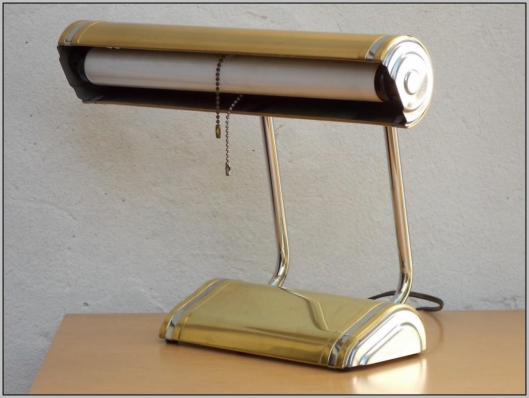 Adjustable Desk Lamp Brass